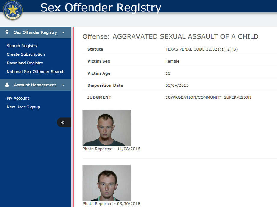 Sex offenders in harris county texas