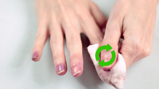 How to decorate your nails with a toothpick