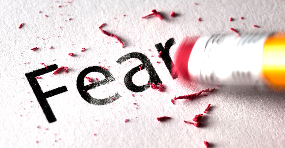 How to stop living in fear