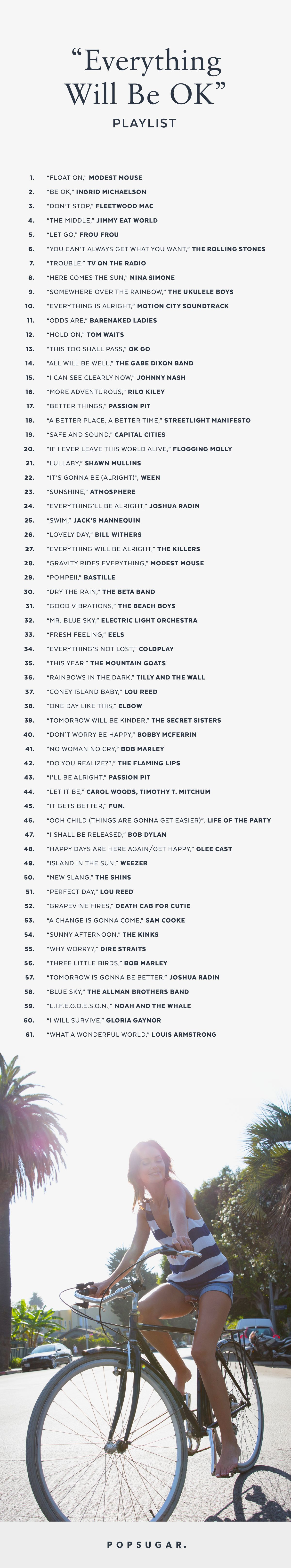 Songs about smiling and being happy