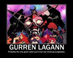 Gurren lagann funny moments