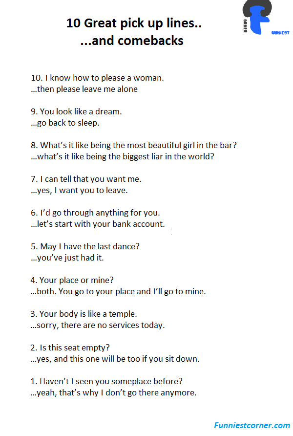 Pick up lines for beautiful girl