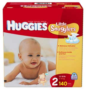 Huggies size 1 weight