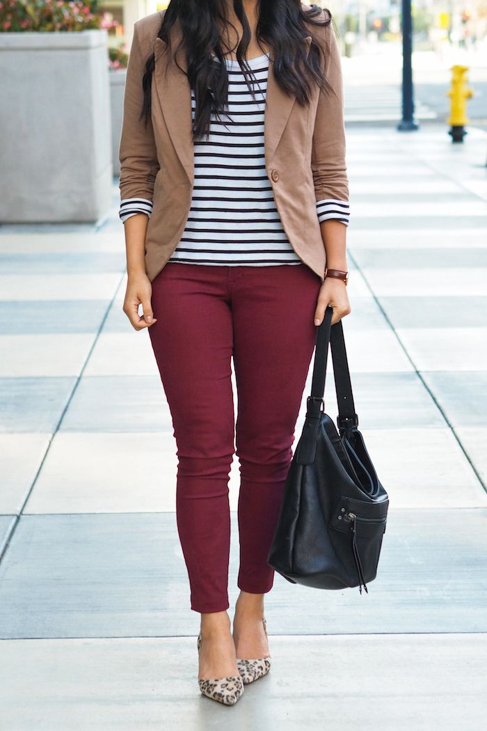 How to wear jeggings to work