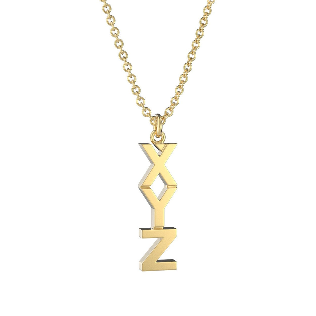 Fraternity lavalier necklaces