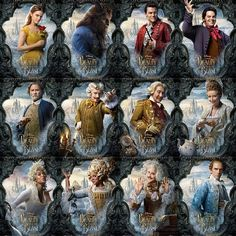 New beauty and the beast characters
