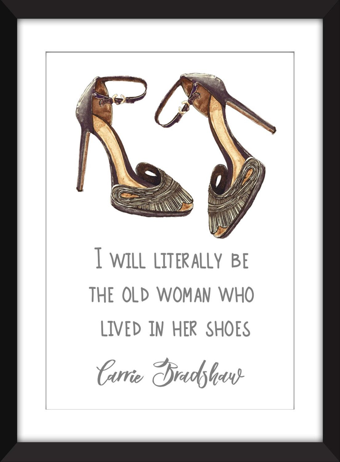 Shoe quotes sex and the city