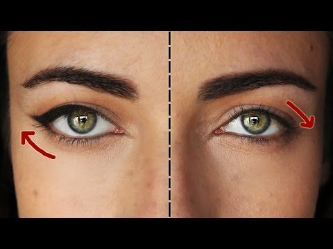 Makeup tips for droopy eyes