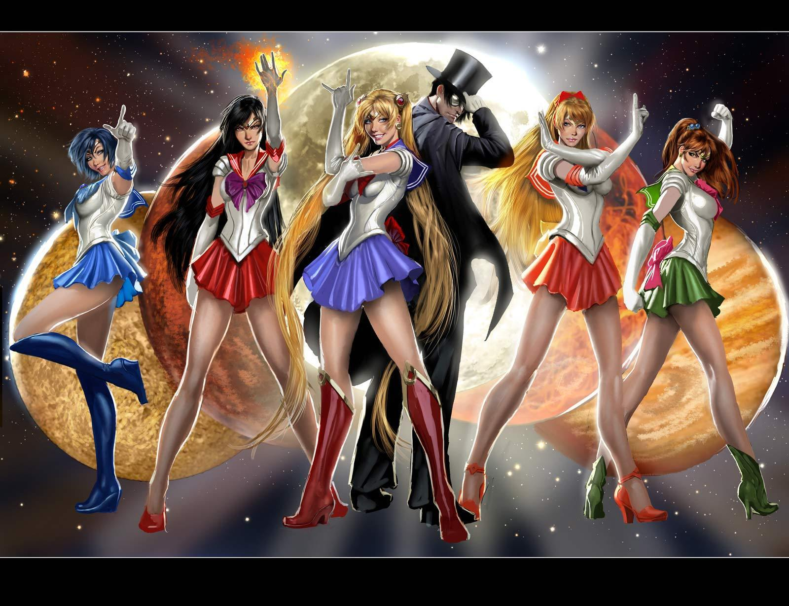 Sailor moon sailor scouts sex